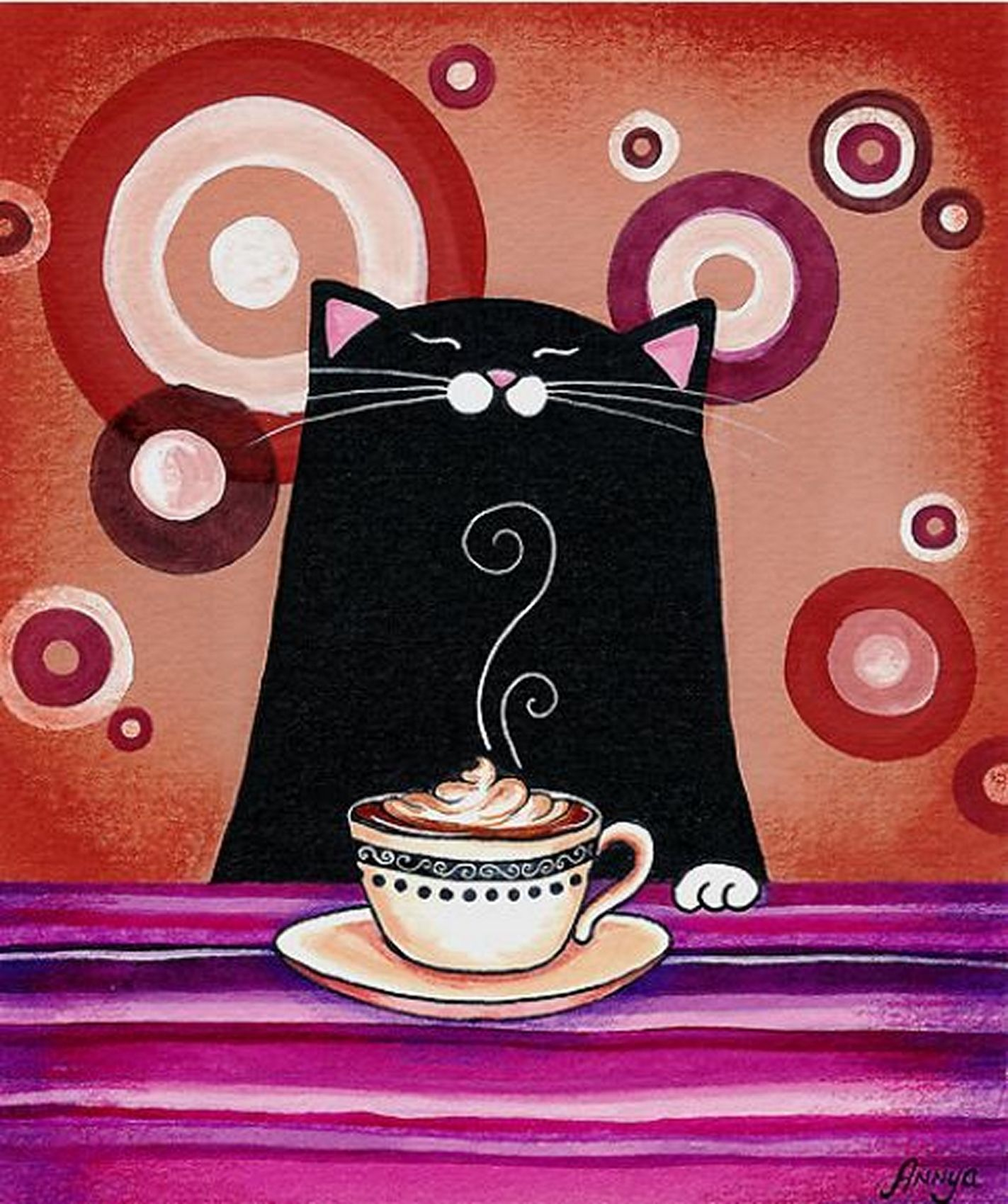 как свои картинки доброе утро с черной кошкой планируется постройка четырех