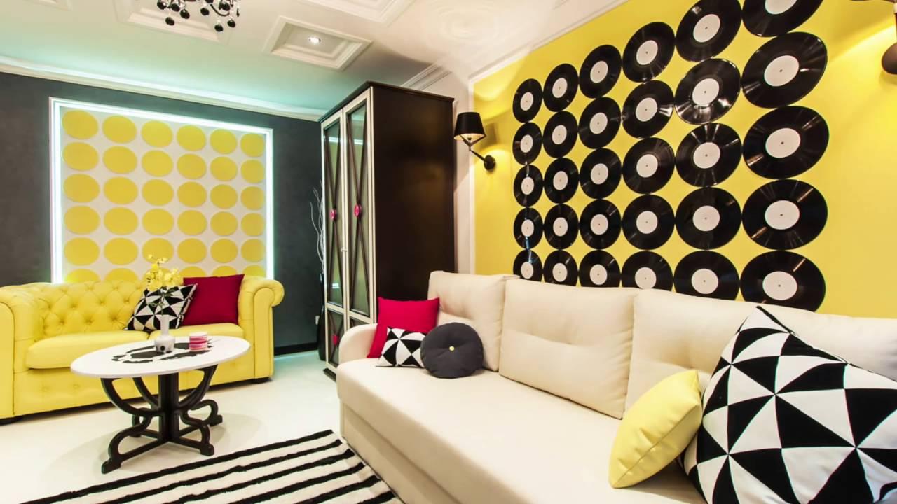 Поп арт стиль в гостиной фото