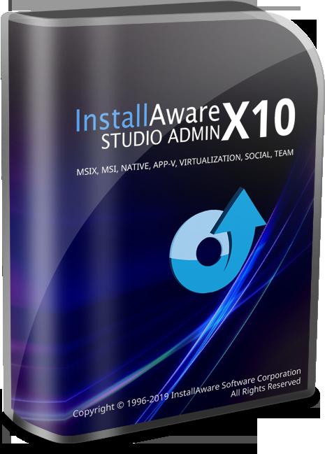InstallAwareX10 Studio Admin [2019, ENG]
