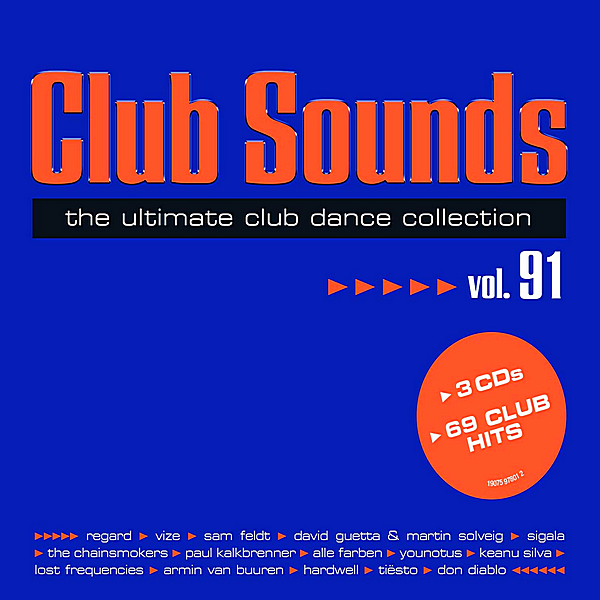 VA - Club Sounds Vol.91 [3CD] (2019)