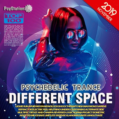 VA - Different Space: Psychedelic Trance (2019)