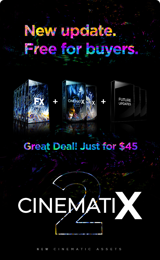 Presets Pack for Premiere Pro: Effects, Transitions, Titles, LUTS, Duotones, Sounds - 4
