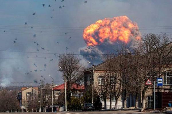 Почему взорвались боеприпасы в Балаклее