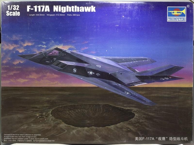 Lockheed F-117 Nighthawk. Trumpeter 1/32. 2a9101b47de957f5213a2c7f4b3b3792