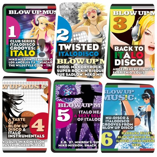 VA - Blow Up Disco Vol. 1-6 (2019)