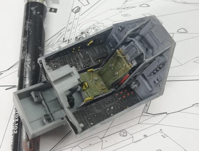 Lockheed F-117 Nighthawk. Trumpeter 1/32. 58f380c0ff56a065f763b40b90b409ae