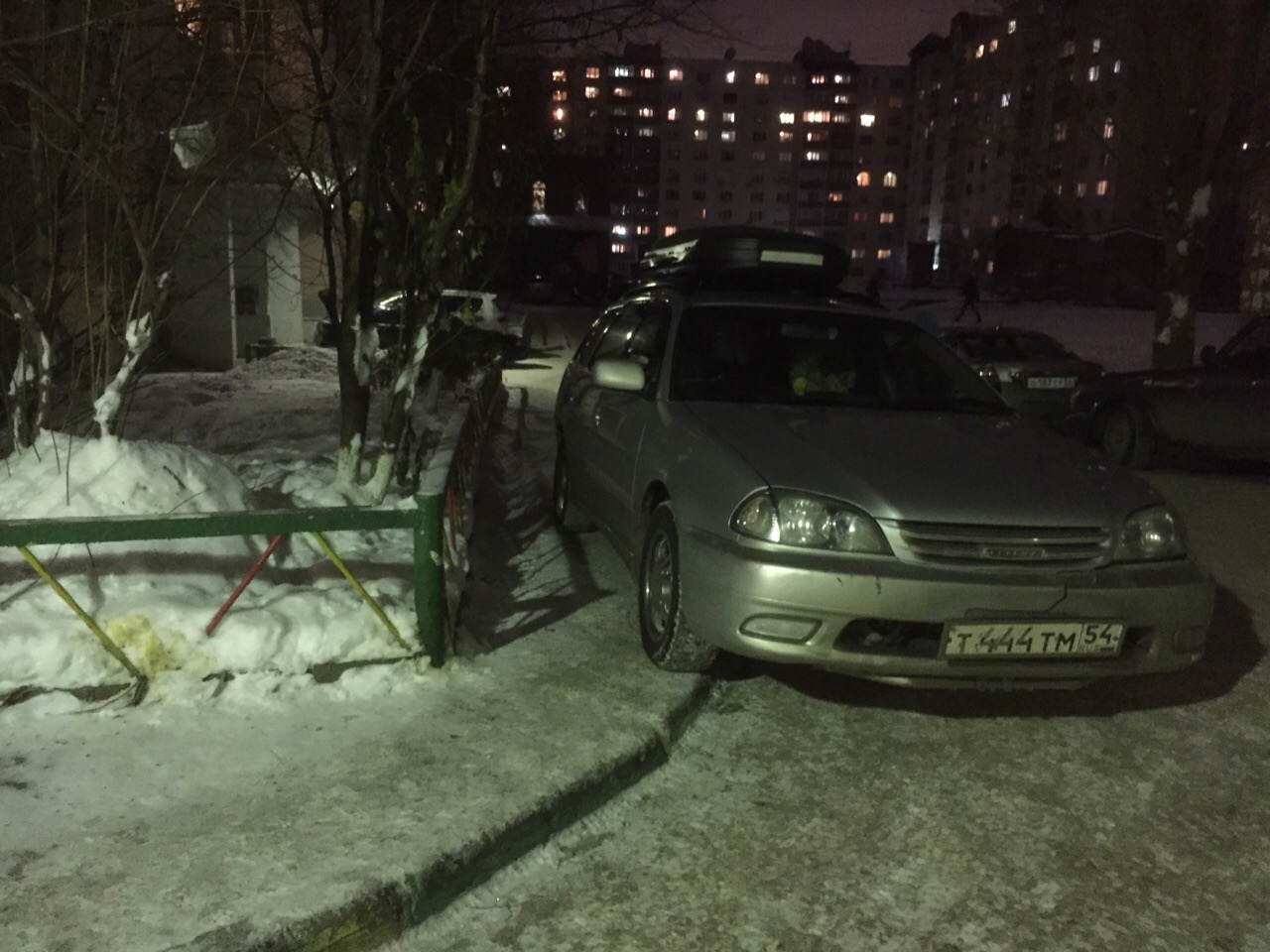 Боженька парковки