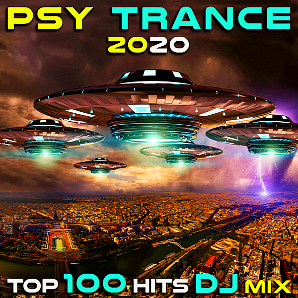 VA - Psytrance 2020: Top 100 Hits DJ Mix (2019)