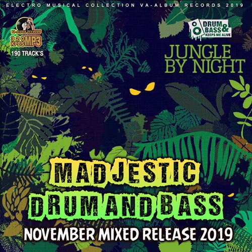 VA - Madjestic Drum And Bass (2019)