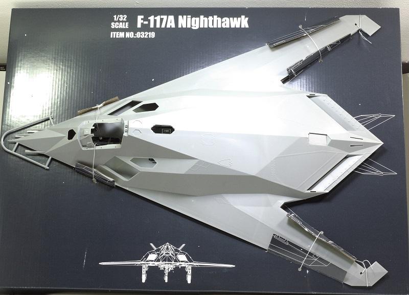 Lockheed F-117 Nighthawk. Trumpeter 1/32. B6c4e7ebf7f4c24485a730ac0dd6b062