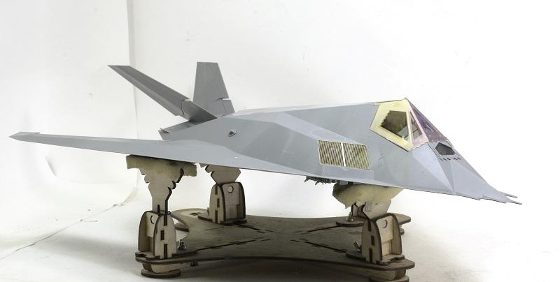 Lockheed F-117 Nighthawk. Trumpeter 1/32. Bd36f5a7c5b1a08042858aef6e015504