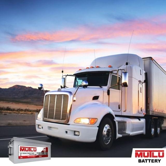 Аккумуляторы Mutlu для грузовых и коммерческих автомобилей