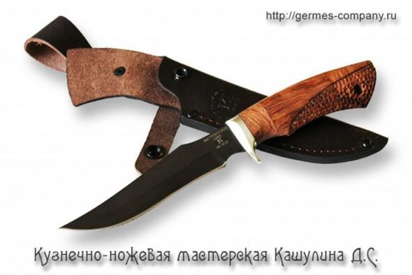 Ножи, клинки, топоры ручной работы от кузнечно-ножевой мастерской Кашулина