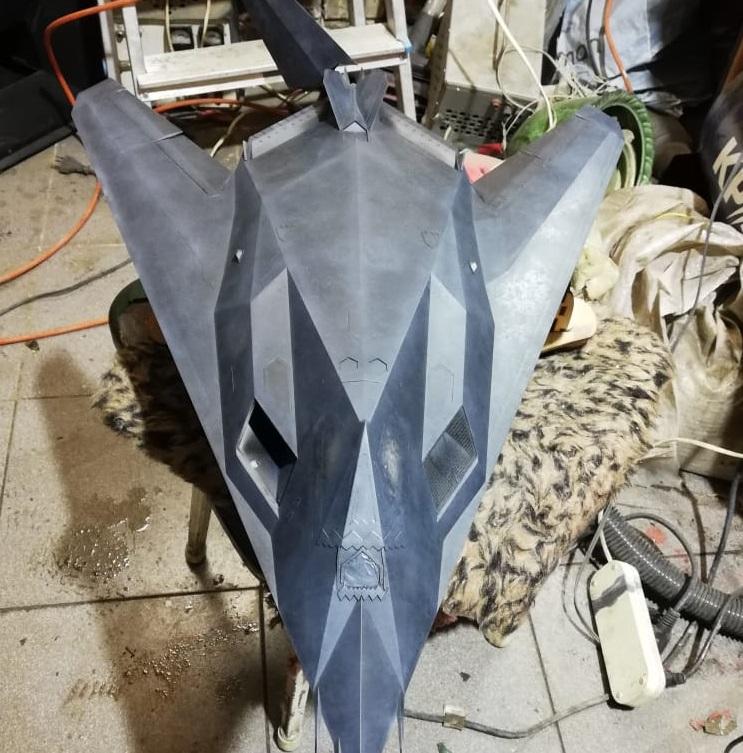 Lockheed F-117 Nighthawk. Trumpeter 1/32. E7c0059703c8d915a8ee00aebeb27160