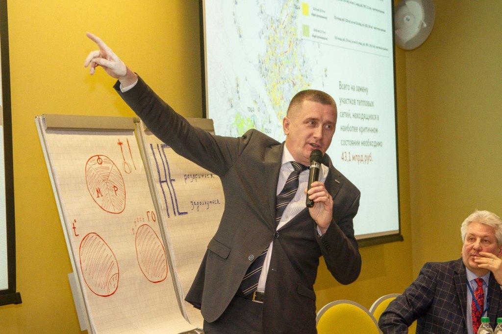Директор новосибирского филиала СГК Андрей Колмаков