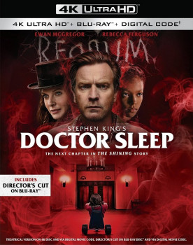 Доктор Сон / Doctor Sleep (2019) Blu-Ray EUR 2160p | HDR | Dolby Vision | Театральная версия