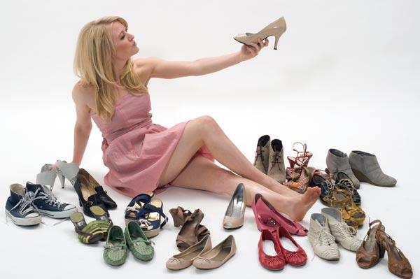 туфля женская