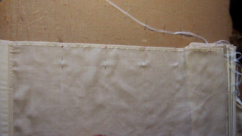 Римская штора своими руками