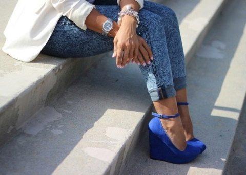 замшевые туфли женские