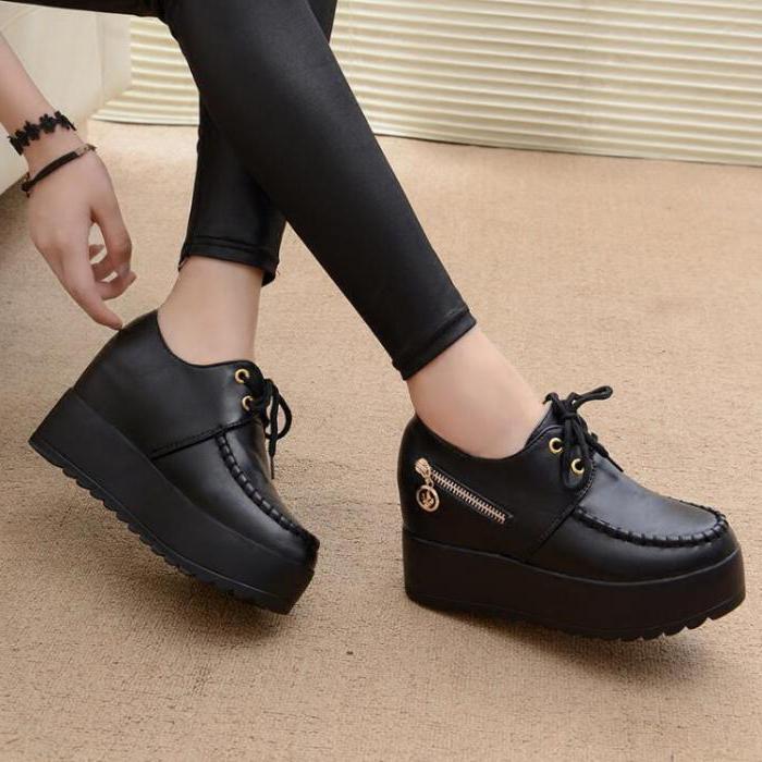 туфлі на платформе