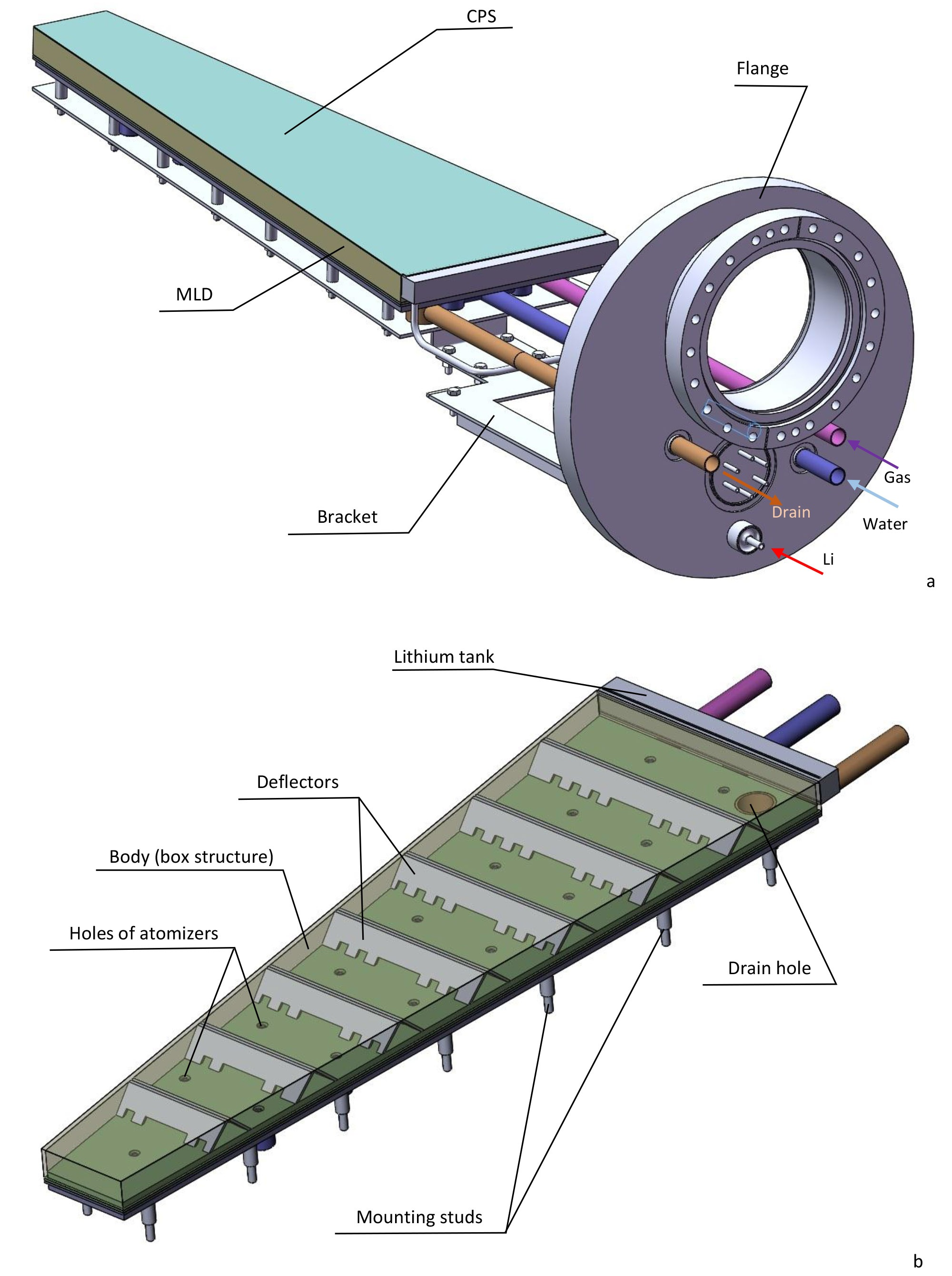 Upgraded design solution for the MLD of KTM tokamak