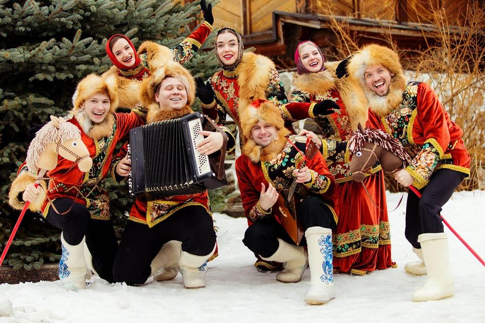 Русские забавы: яркие и колоритные мероприятия в русском народном стиле