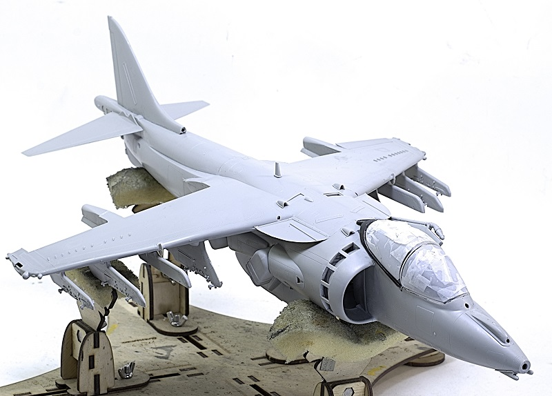 BAe Harrier GR.7 (RAF service) Trumpeter 02287 1/32 8931b7b2e0ef440a4124680de5985814