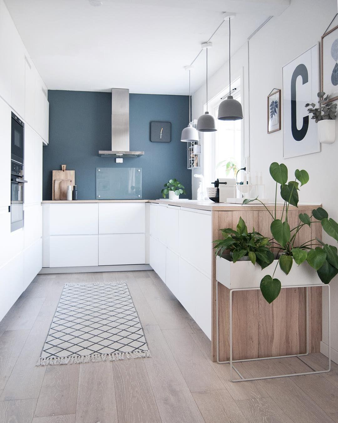 "Vibeke Illevold on Instagram_ ""Kitchen on a spring day"
