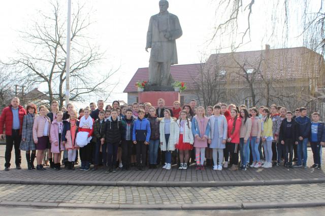 Вшанування пам'яті Великого Кобзаря — Тараса Шевченка