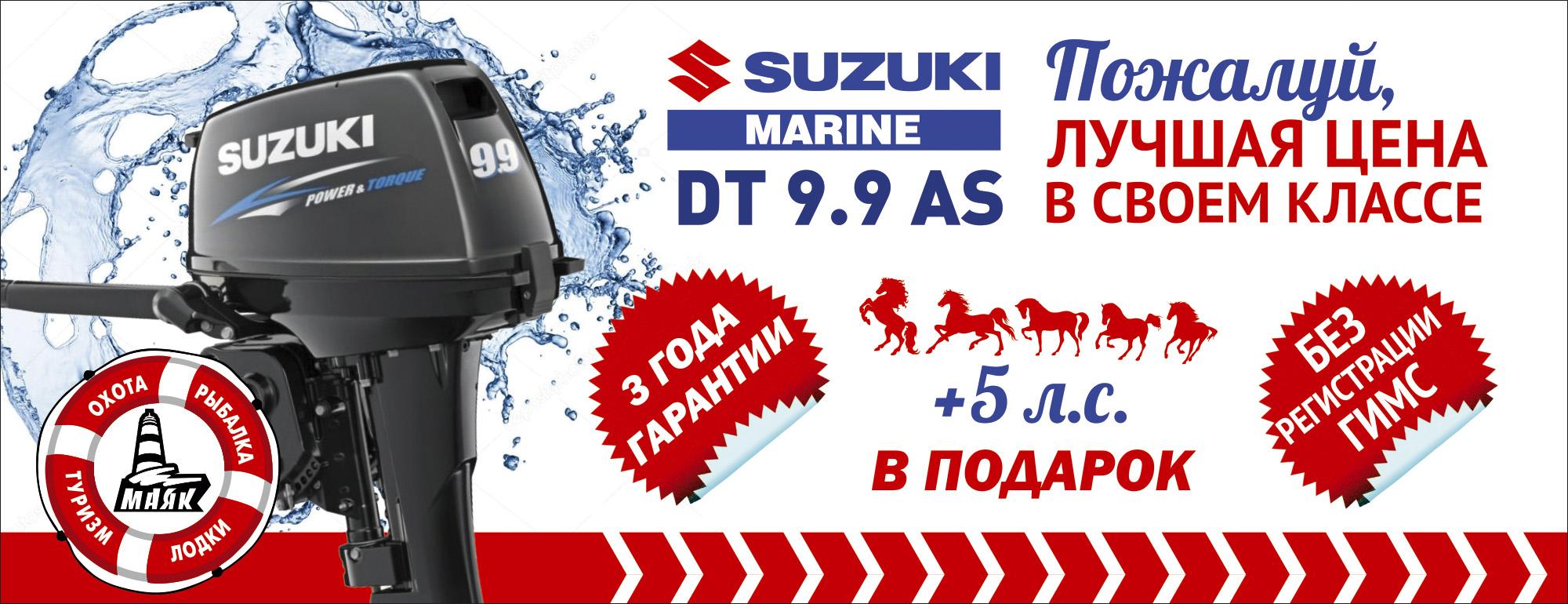 Suzuki DT 9.9