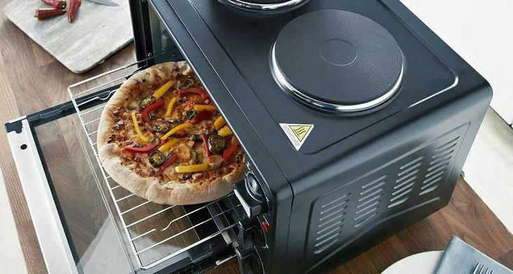 материалы и комплектация кухонной электропечи фото