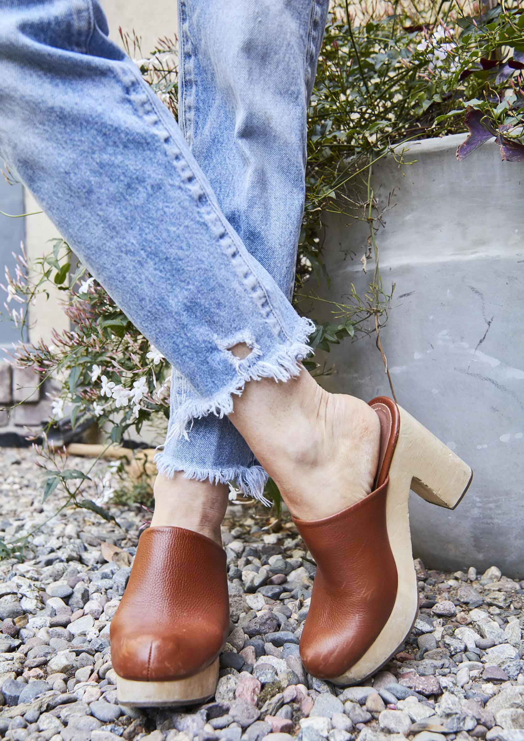 сабо обувь женские