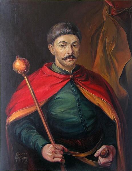 Гетьман Іван Брюховецький (1623—1668).