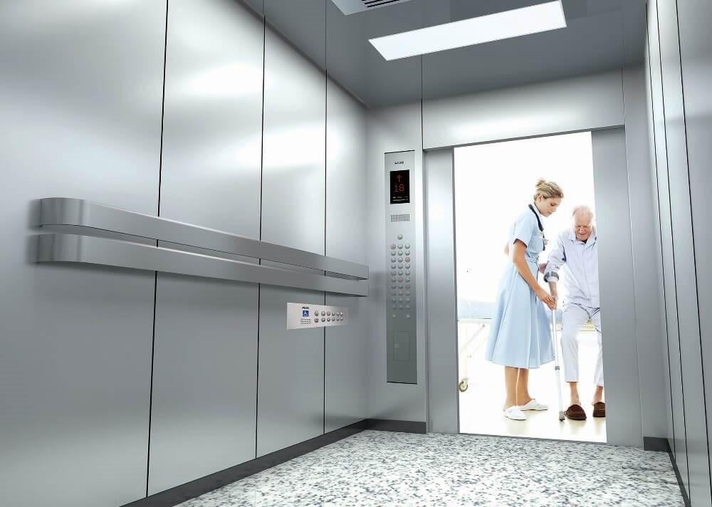 Больничные лифты Скайлифт: безопасное и удобное оборудование