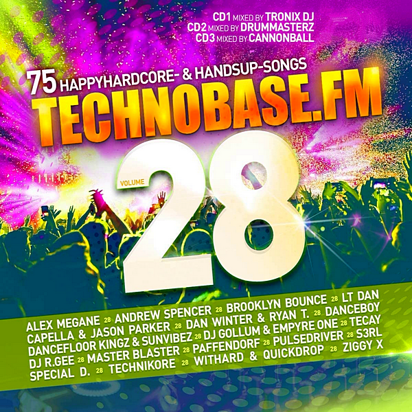 VA - Technobase.FM Vol. 28 [Mixed & Unmixed] (2020)
