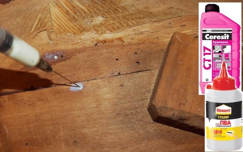 Реставрация мебели.  Старый советский столик