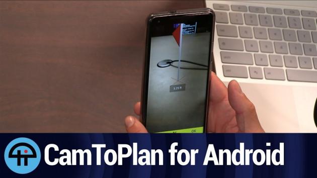 CamToPlan — рулетка измерительная / линейка 3.4.1 Premium (Android)