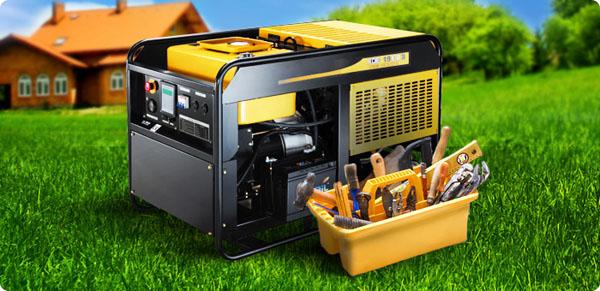 Как выбрать дизельный генератор для дачи или загородного дома
