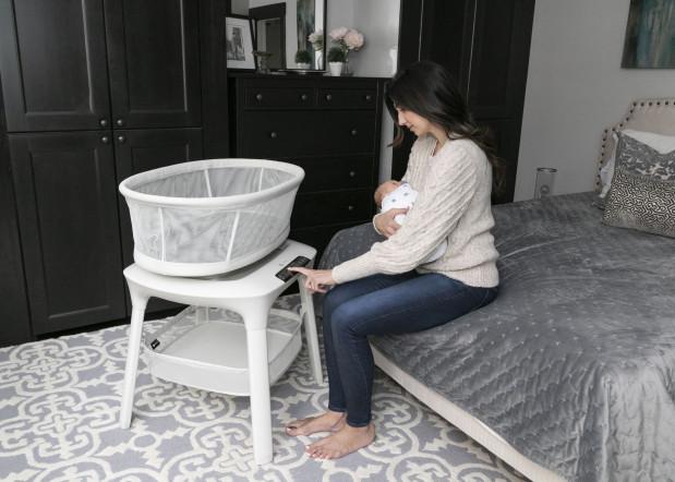 Кроватка-колыбель MamaRoo sleep – такая же нежная, как мама!