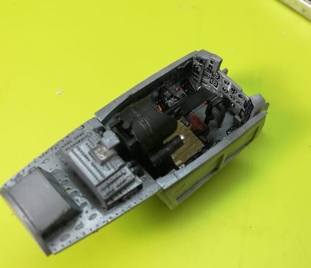 МИГ-29А. Трумпетер 1/32 E50a5184c98981ccffe7139cfa75cd3e