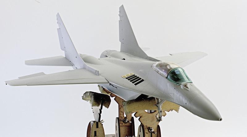 МИГ-29А. Трумпетер 1/32 Ead6f834f3fc98675facc63cbbafeaea