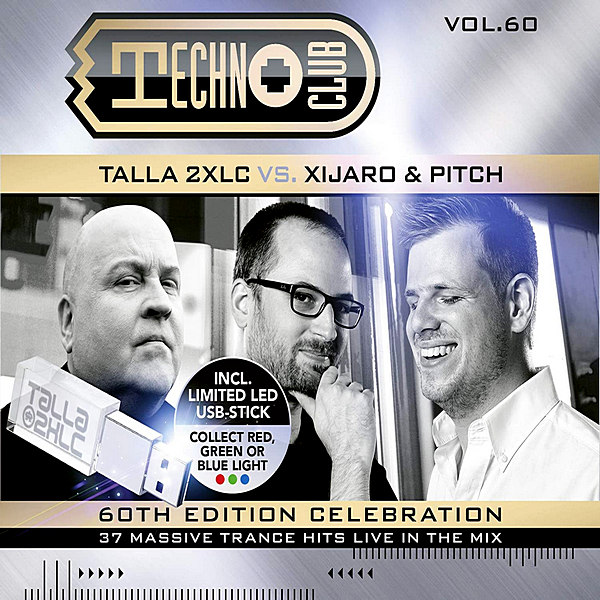 VA - Techno Club Vol 60 [Mixed by Talla 2XLC vs. Xijaro & Pitch] (2020)