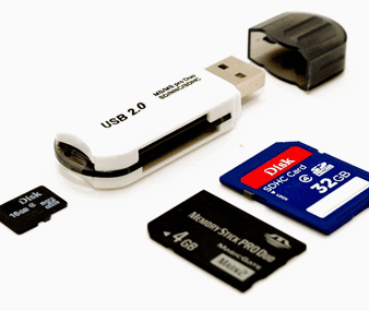 data recovery from memory card and flash