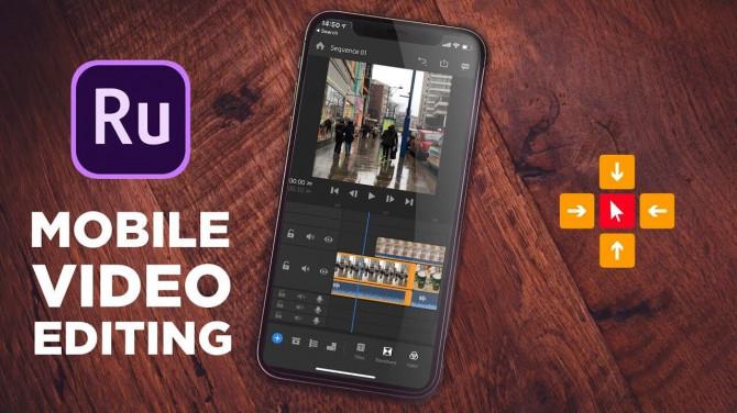 Adobe Premiere Rush — видеоредактор 1.5.46.1086 Premium (Android)