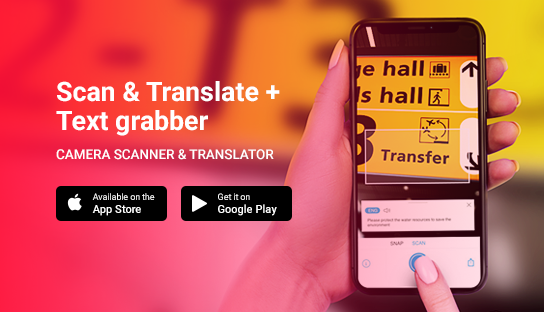 Scan & Translate+ Text Grabber 4.0.1 Premium (Android)