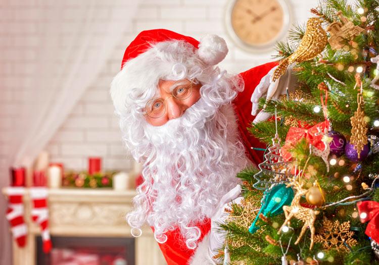 Дед Мороз на новый год в Челябинске