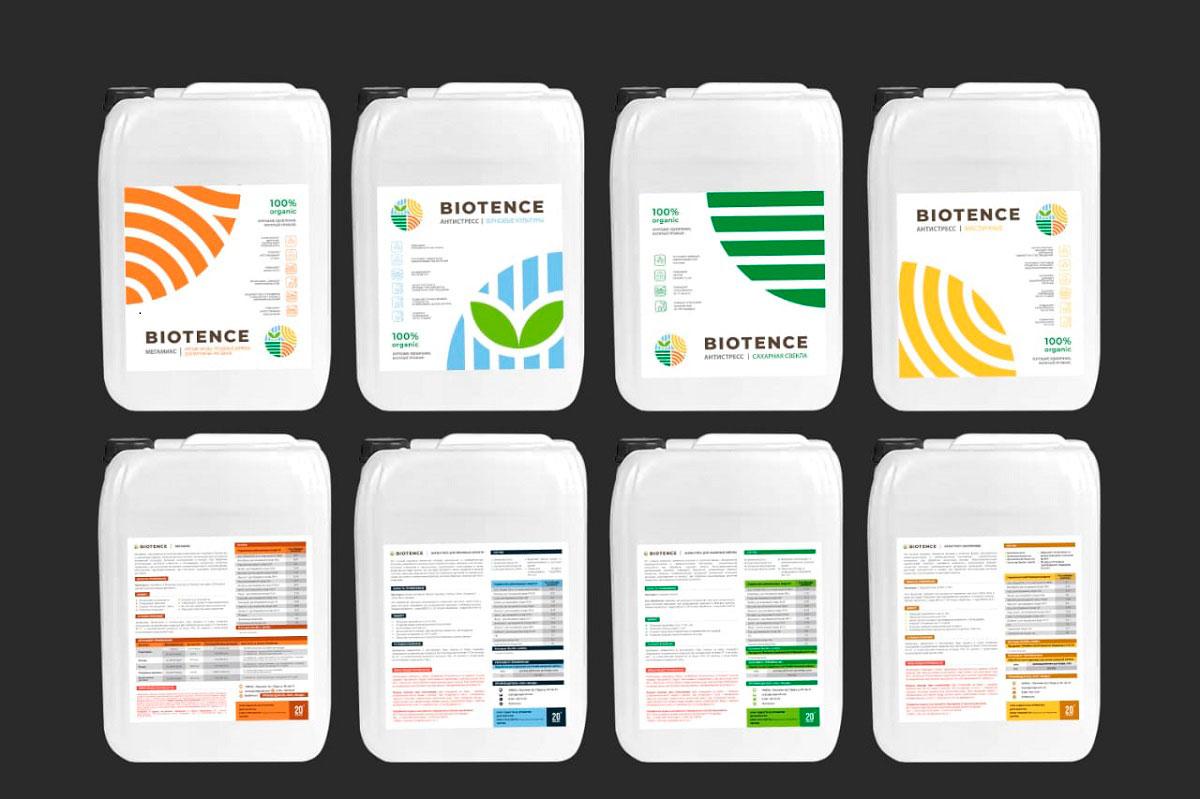 Питательные смеси Biotence