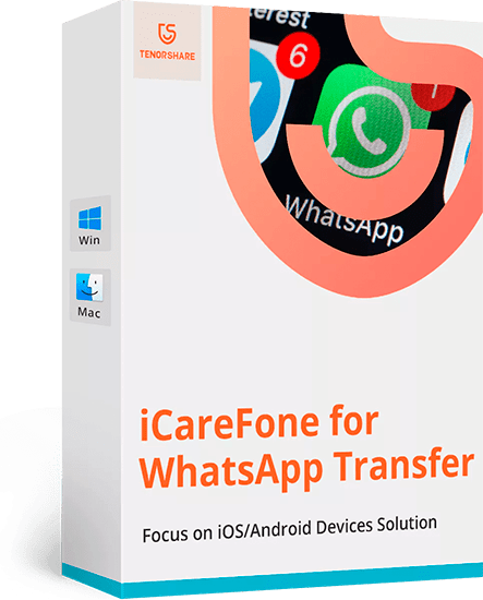 Tenorshare iCareFone for WhatsApp Transfer 3.0.0.173