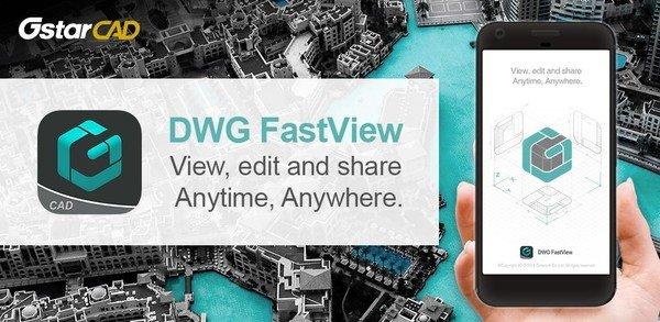 DWG FastView-CAD Viewer & Editor 4.1.2 Premium (Android)