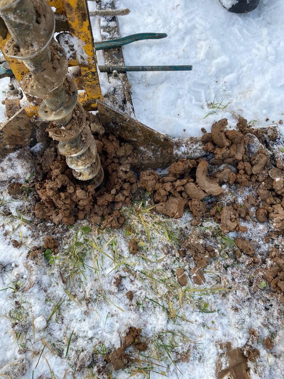 Проведение геология участка под строительство коттеджа в Московской области